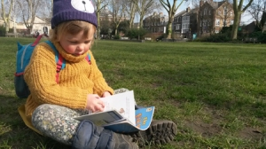 P3 The Garden Classroom Young Reader on Newington Green